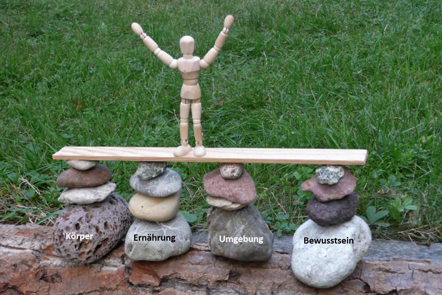 Die vier Säulen der Gesundheit